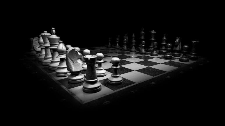 Ein Bild von einem Schachbrett