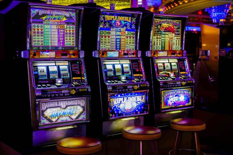 Ein Bild von einem Spielautomaten
